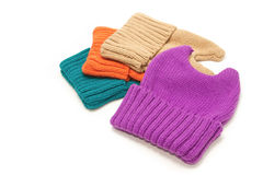 New fashion Knit Wool Hat Stock Photo