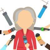 New female president. Stock Photos