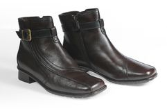 New feminine shoe Stock Photo