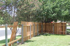 New fence Royalty Free Stock Photography
