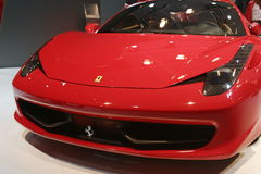 New Ferrari 2009 sport car Royalty Free Stock Photo
