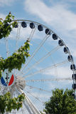 New ferris wheel at Navy Pier in Chicago, Il. Stock Photo
