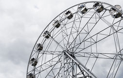 New Ferris wheel, Pervouralsk, Urals, Russia. New Ferris wheel in Pervouralsk, Urals, Russia Royalty Free Stock Images