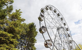 New Ferris wheel, Pervouralsk, Urals, Russia. New Ferris wheel in Pervouralsk, Urals, Russia Royalty Free Stock Photos