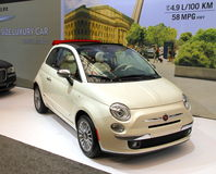 New Fiat 500 Stock Photography