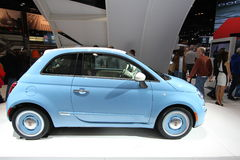 New FIAT 2014 Royalty Free Stock Photography