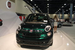 New fiat 500L close up front Royalty Free Stock Photography