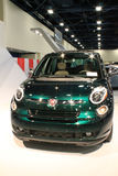 New fiat 500L close up front Royalty Free Stock Photos