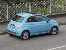 New Fiat 500 Royalty Free Stock Photography