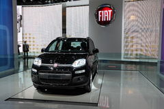 New Fiat Panda Royalty Free Stock Images