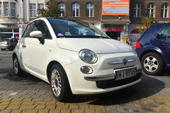 New Fiat 600 parked Royalty Free Stock Photos