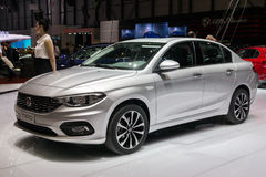 New 2016 Fiat Tipo car Royalty Free Stock Photography