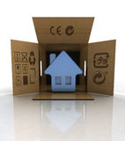 New finished real estate deliveryto customer concept Stock Photography