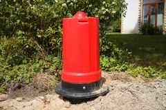 New fire hydrant Royalty Free Stock Photography