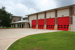 New Fire Station Stock Images