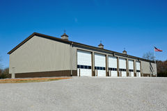 New Fire Station stock photo