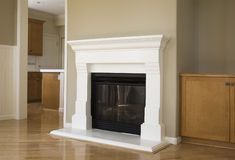 New fireplace Royalty Free Stock Photos