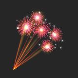 New firework sign Royalty Free Stock Photos