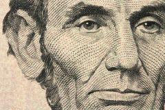 New five-dollar bill Stock Photos