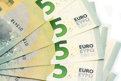 New five euro Stock Image