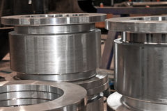 New flanges Royalty Free Stock Photo