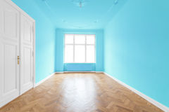 New flat in old building - empty room Royalty Free Stock Photography