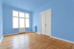 New flat in old building - renovated room Royalty Free Stock Photography