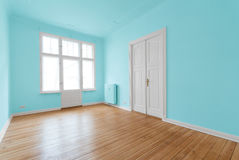 New flat in old building - renovated room Royalty Free Stock Images