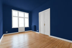 New flat in old building - renovated room Royalty Free Stock Image