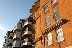 New Flats by the Sea. A new block of flats royalty free stock photography