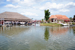 New Floating Market at Hua Hin Royalty Free Stock Images