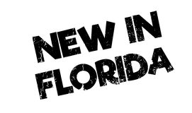 New In Florida rubber stamp Royalty Free Stock Photography