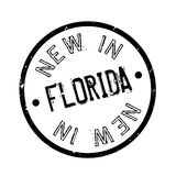 New In Florida rubber stamp Stock Images