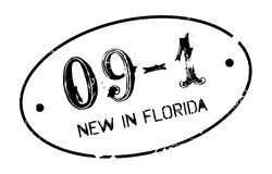 New In Florida rubber stamp Royalty Free Stock Image