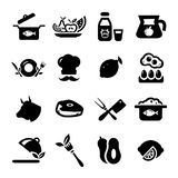 New food icons Royalty Free Stock Image