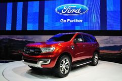 New Ford Everest on display Royalty Free Stock Image