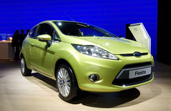 New Ford Fiesta stock image
