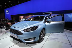 New Ford Focus at the Auto Mobile International Royalty Free Stock Photos