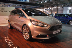 The new 2015 Ford S-Max Vignale Stock Photo
