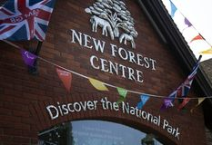 New Forest Museum Visitor Centre. Lyndhurst Royalty Free Stock Photos