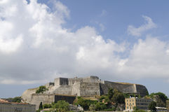 New fortress in corfu Royalty Free Stock Photos