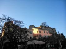 New fortress of Corfu Stock Photography