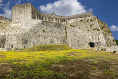 The new fortress in Corfu city, Greece Stock Photo