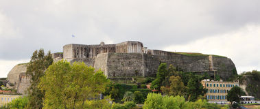 New Fortress in Corfu Town royalty free stock photography