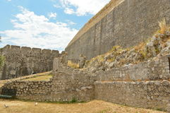 New fortress in Kerkyra town at Corfu Royalty Free Stock Images