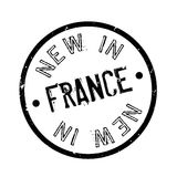 New In France rubber stamp Royalty Free Stock Images