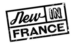 New In France rubber stamp Stock Photo