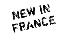 New In France rubber stamp Stock Photography
