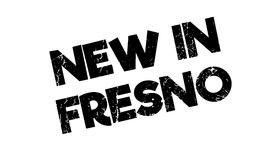 New In Fresno rubber stamp Royalty Free Stock Photo