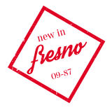 New In Fresno rubber stamp Royalty Free Stock Image